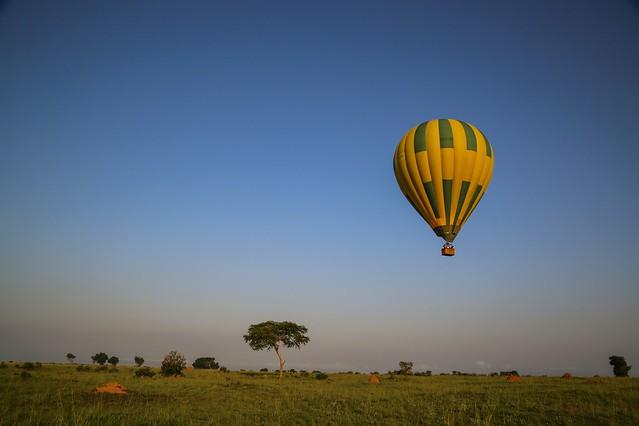 balloon safari uganda